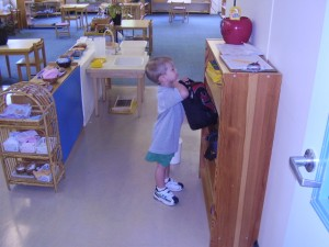 Adam at Montessori