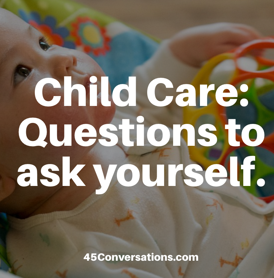 child care questions to ask yourself