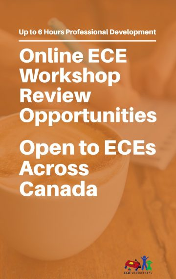 Free ECE Workshops? Apply for our ECE Workshop Review Opportunities