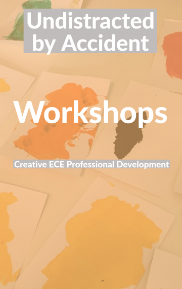 Creative Workshops & ProD from 45 Conversations and Jane Boyd, ECE