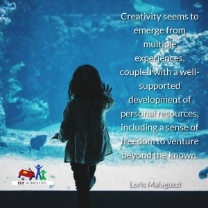 Another great creativity quote from Loris Malaguzzi