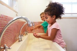 Wash your hands – pictures you can use with young children